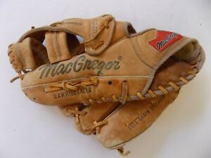 "MacGregor MG50F Adjusta Wrist Softball Left Hand Throw Vintage 12.5"" Glove"