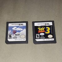 Nintendo DS Games Lot Disney Pixar Toy Story 3 Up Cartridges only tested works