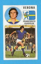 PANINI CALCIATORI 1976/77-Figurina n.301- GUIDOLIN - VERONA -Rec