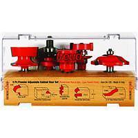 Freud 5-Piece Cabinet Rail And Stile Router Bit Set 94-150