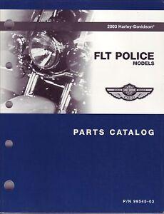 HARLEY Teilebuch 2003 FLT FLHPI FLHTPI FLHPEI Police