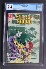 SUICIDE SQUAD #48 Killing Joke 1990 Batgirl Oracle Barbara Gordon Joker CGC 9.4