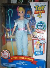 TOY STORY 4 BO PEEP AND GIGGLES MCDIMPLES, NEVER OPENED  INTERACTIVE. .