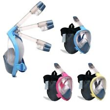 Foldable DryDive Full Face Snorkel Mask