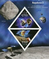 Space Stamps 2019 MNH Hayabusa 2 Satellites Japanese Space Agency 2v M/S