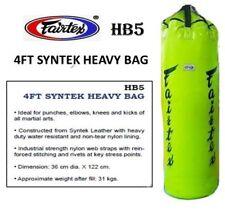 Fairtex Heavy Bag Hb5 4 Feets Green Training Muay Thai Boxing Mma K1 Un-Filled