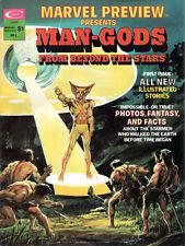 Marvel Stan Lee MAN GODS FROM BEYOND THE STARS Erich Von Daniken DAVE COCKRUM