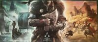 Assassin's Creed Valhalla Promo Poster GameStop Exclusive NEW