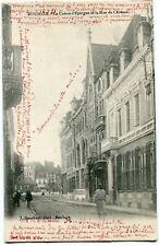 CPA - Carte Postale - France - Roubaix -La Caisse d'Epargne et le Rue du Château