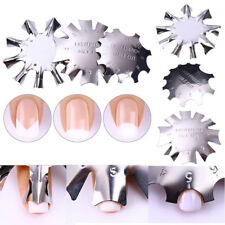 Nail Art Cutter French Line Edge Manicure Stencil False Line Edge Trimmer Tools