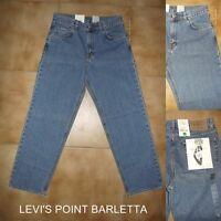 Jeans Calvin Klein CK Uomo Relaxed Leg Easy Fit Diritto Azzurro Tg W 30 31 38 40