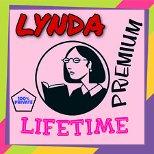 NEW Lynda Personal Premium Account, Full Access to All Courses, Direct Access