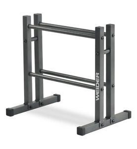Weider Two-Tier Utility Rack For Dumbbell | Kettlebell | Medicine Ball Storage