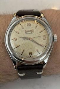 Eberhard & Co Vintage Automatic Bidynator Watch. Patina/Tropical Dial!