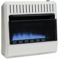 Avenger FDT30BFA Dual Fuel  30000 BTU Ventless Blue Flame Heater