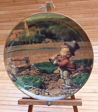 "Hummel Danbury ""Songs of Thanksgiving"" Calendar Plate / November Serenade / 8"""
