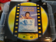 'BEST DEFENSE' 1991 Dutch Edition Laser disc PAL