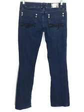 Sean John Jeans Luxe Boot Cut Dark Wash Stretch Jeans Juniors 3 Womens 28 x 31
