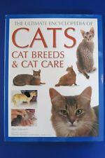 1999 2007 Alan Edwards ~Ultimate Encyclopedia of Cats~ RARE HARDCOVER Book w/ DJ