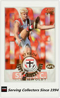 2003 Select AFL XL Ultra Series Best & Firest Card BF15 Nick Riewoldt-St. Kilda
