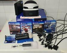 Sony Ps4 VR Occhiali Realtà Virtuale + Connettore Ps5 + ps move + 4 giochi ps4