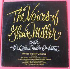 THE VOICES OF GLEN MILLER with the glenn miller orchestor LP vinyl album record