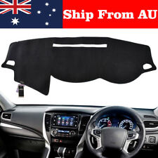 Dash Mat Dashmat For Mitsubishi Triton MQ GLX GLS GLR EXCEED 1/2015-2019 Black
