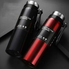 Portable Thermos Mugs Double Wall Stainless Steel Insulated Bottle Vacuum Flask