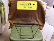 """Rare 1950s Rca Victor Label """"X"""" Advertising Steel Display Rack for 10"""" Jazz Lps"""