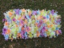12 Hawaiian Dress Party Flower Leis/Lei Flower 5cm Mixed