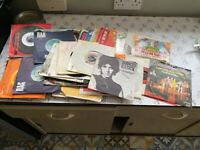 Vintage Retro 1970's Singles 45rpm Records x 60