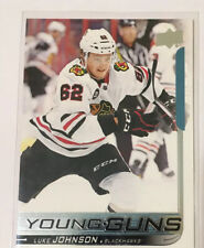 18-19 Upper Deck Young Guns Luke Johnson Chicago Blackhawks