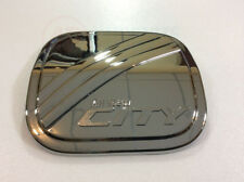 Fit For Honda City Sedan 2008-2012 Fuel Oil Gas Tank Cap Cover Chrome Trim 1Pcs