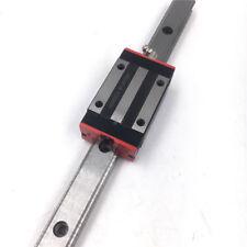 15 mm HGR15 Linear Rail Guide L-500mm/&2pc HGH15CA bloc de remplacement pour hiwin