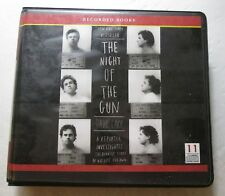 The Night of the Gun by David Carr (CD, Ex-Library, 2008) Recorded Books