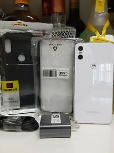Motorola One - 64GB - White (World Unlocked)Dual Simcard