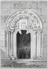 La Coruña: iglesias portal 1844 españa SPAIN galicia portada de ähnlicher Begoña