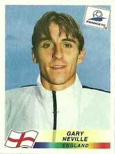GARY NEVILLE /England sticker FRANCE 98 World Cup (465) PANINI soccer NEW/MINT