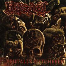 """BLOODSOAKED """"Brutally Butchered"""" death metal CD"""
