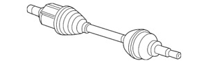 Genuine GM Axle Assembly 42527025