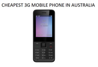 Brand New ZTE Telstra Lite F327S 3G Black Bluetooth Cheap Mobile Phone AU STOCK