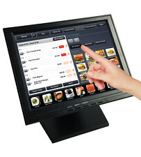 "12"" inch Touch Screen Monitor TFT LCD POS Retail Kiosk Restaurant Touchscreen"