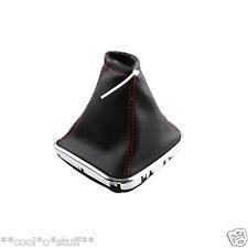 117- CZR Cruze Chevrolet Gear Knob Cover Boot Leather with Chrome Bottom Trim