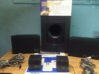 EMERSON RESEARCH Stand Alone Home Theater System Cinema Surround Micro-10