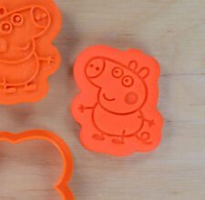 Peppa Pig's Brother George Cookie Cutter and Stamp Set - 3d printed plastic