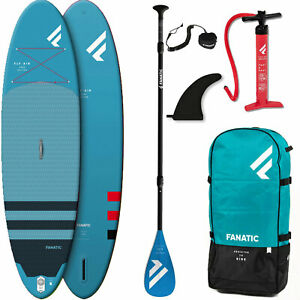 Fanatic Fly Air + Pure Paddel SUP ISUP Stand Up Paddle Board aufblasbar 315 cm