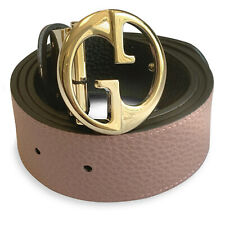 bf788f804 New 100% Authentic Gucci GG Reversible Belt Size 85/34 Black / Pink