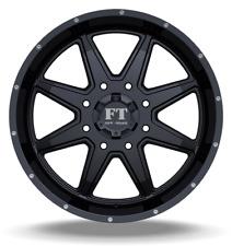 4 ~ 20x12 Full Throttle FT-2 Blade Satin Black Wheels 5x139.7 -44mm