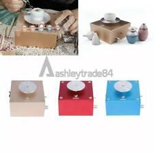 1PCS Electric Pottery Making Machine DIY Mini Clay Ceramic Art Machine 12V