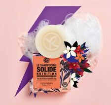 Yves Rocher Solid Hair Shampoo Nourishment With Flower Oils BIO 60 g 34165 Gift